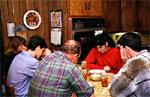 Oración para la cena de Navidad