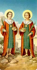 El santo de hoy...Cosme y Damián, Santos  Cosme_y_damian