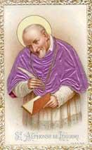 El santo de hoy... Alfonso María de Ligorio, Santo San-alfonso-ligorio