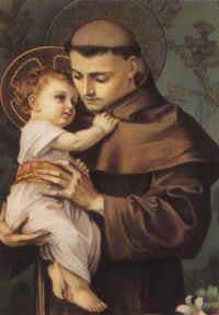 El santo del día... Antonio de Padua, Santo San-antonio-de-padua