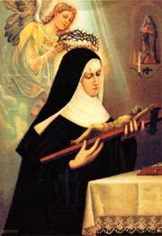 El santo de hoy...Rita de Casia, Santa Santa_rita_de_casia