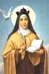 El santo de hoy...Teresa de Jesús (de Ávila), Santa Avila-teresa