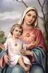 Que nunca nos falte María