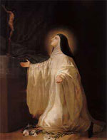 El santo de hoy...Lutgarda, Santa Lutgarda