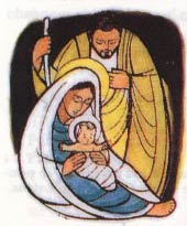 La Sagrada Familia: Jes�s, Mar�a y Jos�