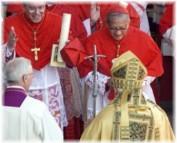 Cardenal Re: Alcide De Gasperi, modelo para los pol?ticos, 50 a?os despu?s