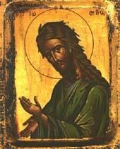 Juan Bautista, el  precursor
