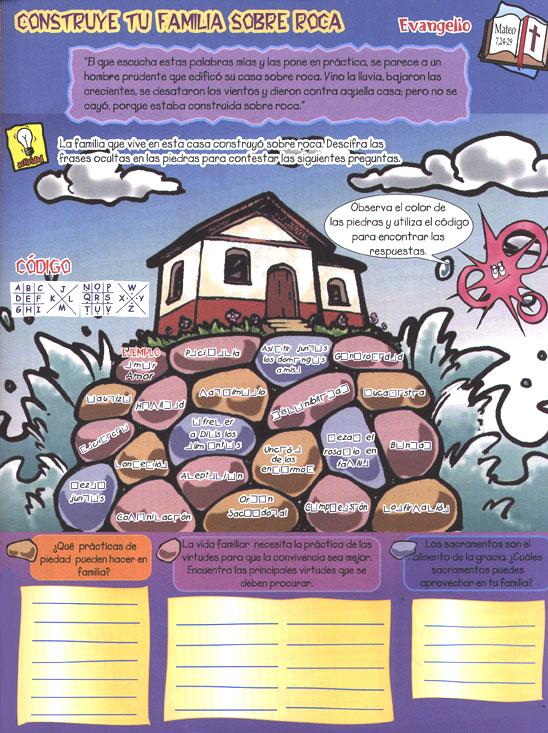 Biblia en puntadas construye tu familia sobre roca for Familia roca