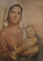 Oración del párroco a María Santísima