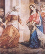 La Visita de la Virgen a su prima Isabel