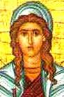 Adriana de Prymnesso, Santa