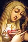 El santo de hoy...Catalina Mattei de Racconigi, Beata Catalina-racconigi