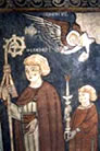 Fructuoso (obispo de Tarragona), Augurio y Eulogio (diáconos), Santos