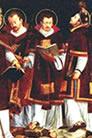 Sisinio, Martorio y Alejandro, Santos