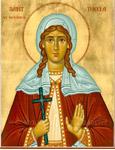 Tecla de Iconio, Santa