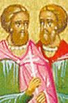 Marino y Asterio, Santos