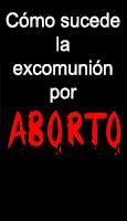¿Cómo sucede la excomunión por aborto?