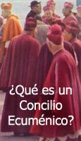 �Qu� es un Concilio Ecum�nico?