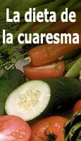 La dieta de la Cuaresma