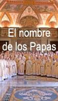 El nombre de los Papas