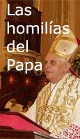 Las homil�as del Papa Ratzinger
