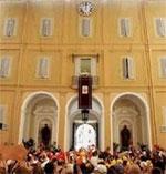 Seguir a Jes?s significa hoy ir contra la corriente, asegura Benedicto XVI