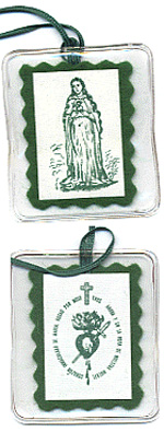 El Escapulario Verde del Inmaculado Corazón de María