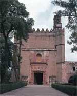 Iglesia y convento de San Miguel Arc�ngel, en Huejotzingo